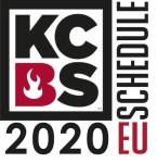 KCBS Europe Schedule 2020