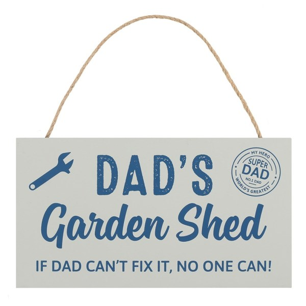 Dads Garden Shed Plaque