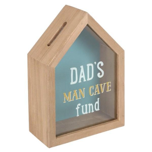 Dad's Man Cave Fund Money Box