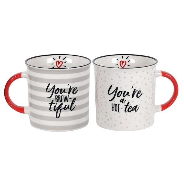 You're Brew-tiful Couples Mug Set