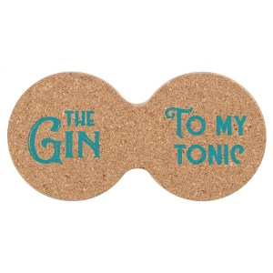 The Gin To My Tonic Double Coaster