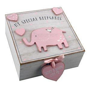 My Special Baby Keepsake Box - Pink