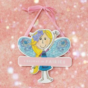Believe In Fairies Magical Hanging Plaque