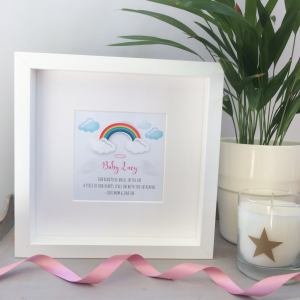 Personalised Baby Memorial Frame