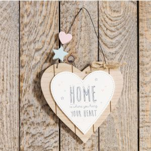 Home Is Where Heart Plaque