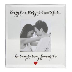 Every Love Story Photo Frame