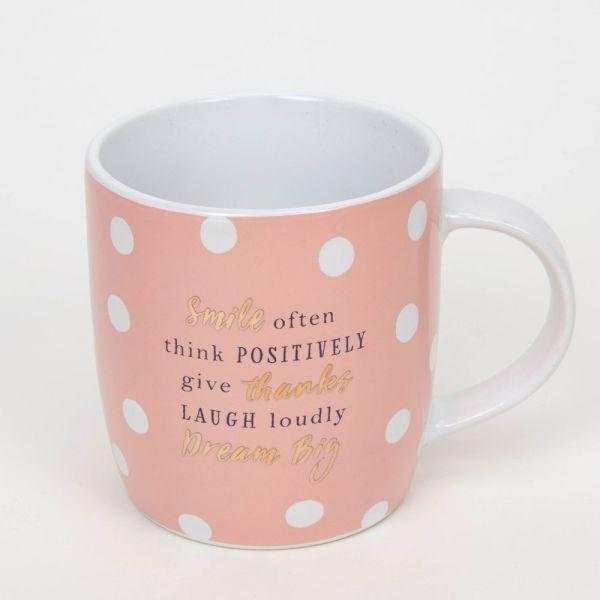 Smile Often Novelty Mug