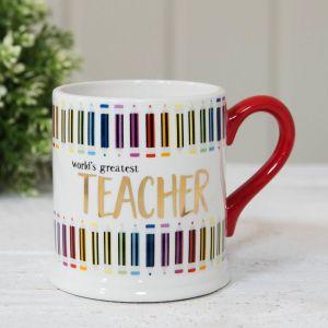 Luxury Worlds Greatest Teacher Mug