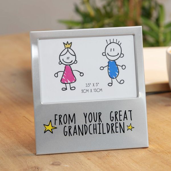 From Your Great Grandchildren Star Photo Frame