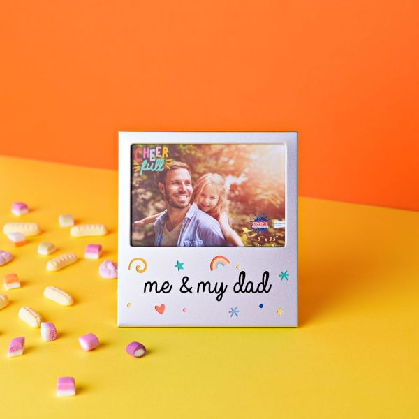 me and my dad frame