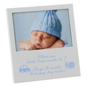 Baby Boy Aluminium Photo Frame