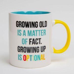 Growing Up Birthday Mug