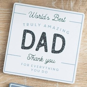 Truly Amazing Dad Coaster