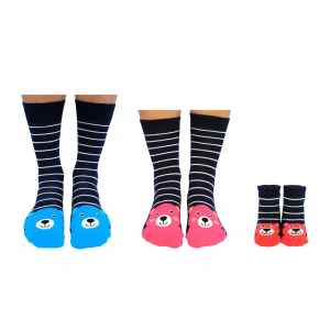 Mummy, Daddy and Me Sock Set