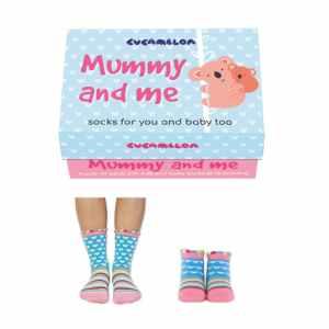 Mummy and Me Matching Socks Gift Set