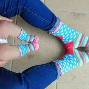 Mumm and Me Matching Socks Gift Set
