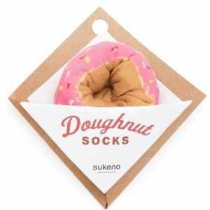 Berry Sprinkles Doughnut Socks