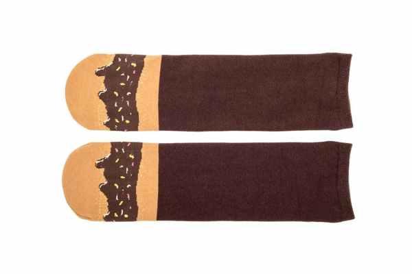 Fudge Sprinkles Doughnut Socks