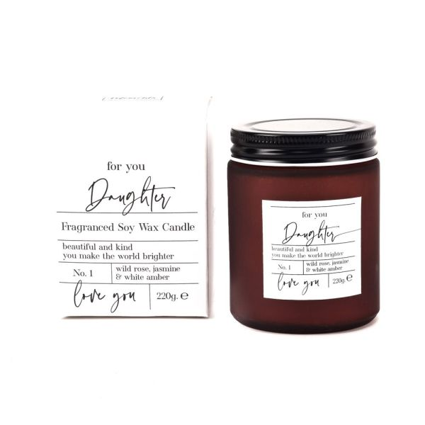 Moments Luxury Daughter Candle