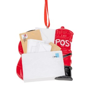 Postal Worker Personalisable Christmas Decoration