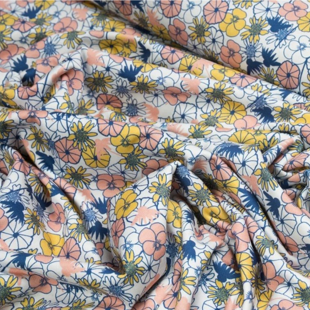 organic floral cotton