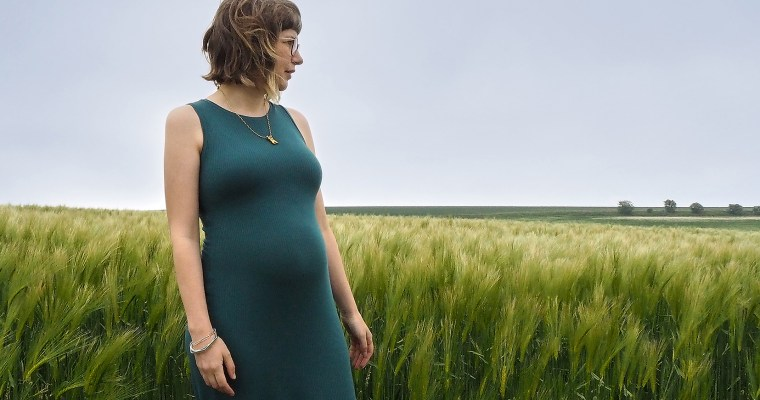 How to Trace a Pattern, Copying A Ready to Wear Maternity Dress