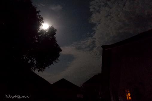 Mystery Moon by rubys polaroid