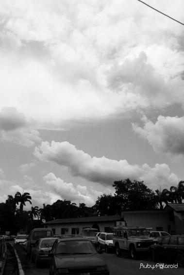 White Sky by rubys polaroid