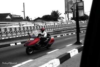 Unusual Commuter by rubys polaroid