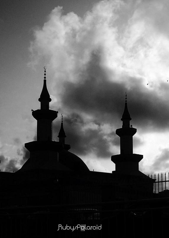Minaret Sky silhouette by rubys polaroid