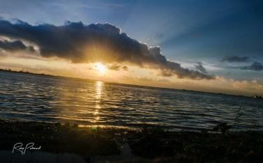 Lagos lagoon sunset 2 by rubys polaroid