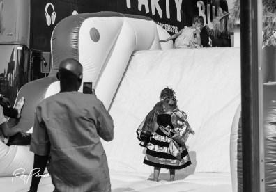 Bouncing Castle Fun by rubys polaroid