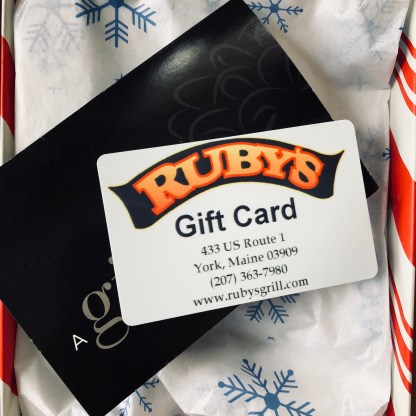 Ruby's Gift Card