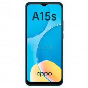 """Смартфон OPPO A15s 4/64Gb Blue (Android 10.0/MT6765 2300MHz/6.52"""" 1600x720/4096Mb/64Gb/4G LTE ) [6944284676282]"""