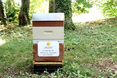 parrainer ruche 30 - rucher de marandou