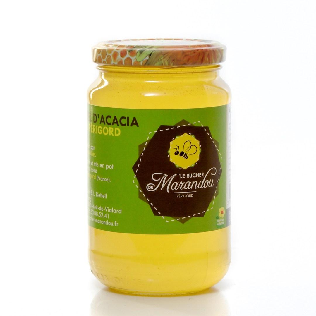 Miel d'acacia rucher de marandou Dordogne Périgord