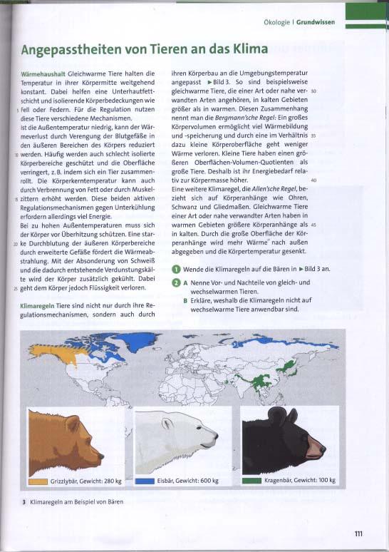 Finale Illustration als Abbildung im Biologie Schulbuch (d.h. Fokus Biologie. Cornelsen Verlag GmbH, Berlin)
