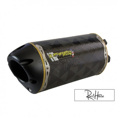 exhaust two brothers racing bws 125 carbon ruckhouse