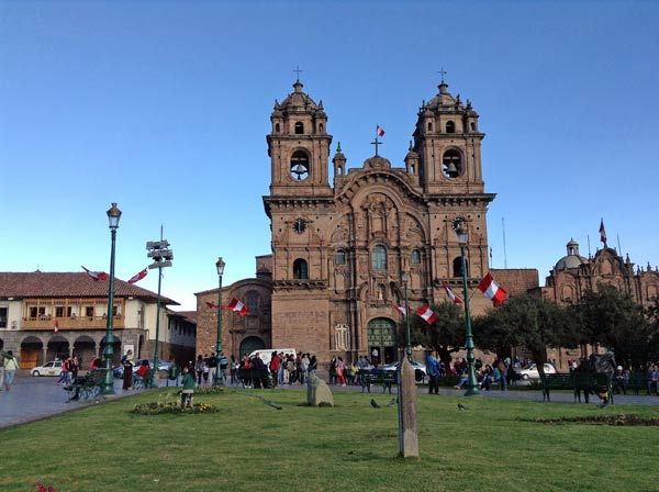 Plaza Cusco Peru