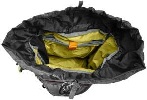 Rucksack Frauen Backpack Jack-Wolfskin von oben