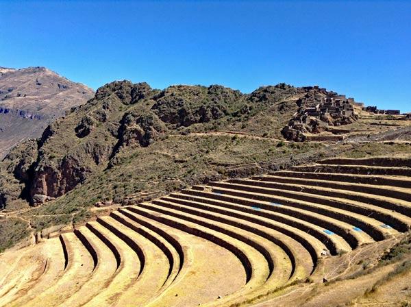 Inka-Terrassen von Pisac