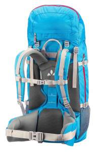 Backpack Frauen Reiserucksack von Vadue im Test die Träger