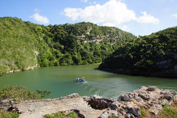 Verlassene Bucht Fischer Kuba