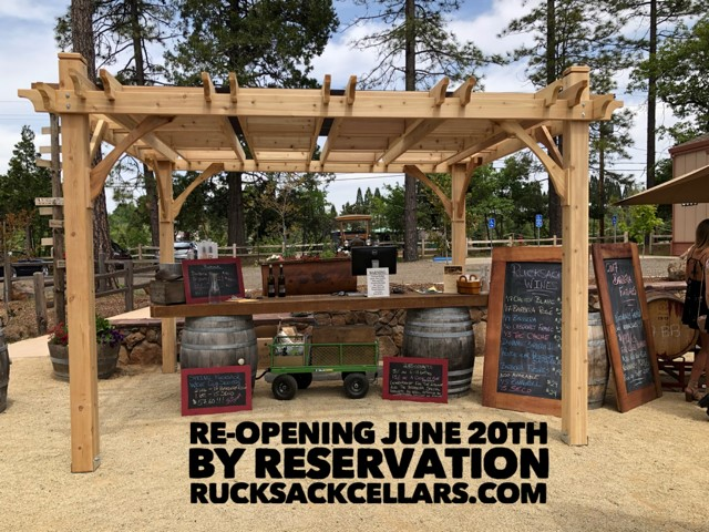 Rucksack Re-Opening – June 20, 2020