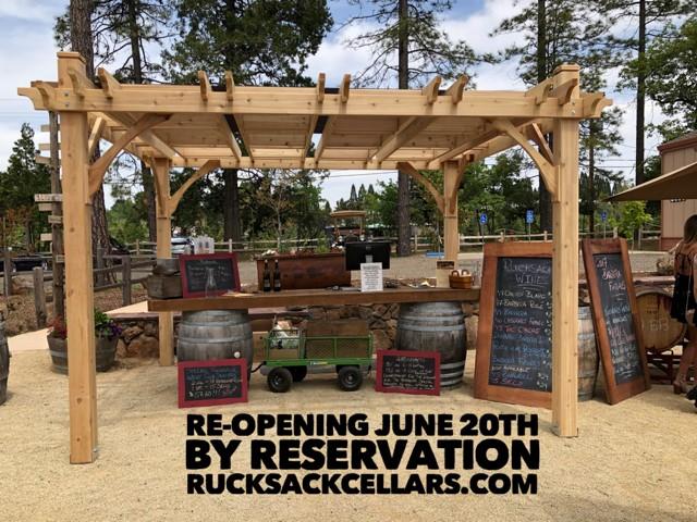 Rucksack Re-Opening – June 20, 2020