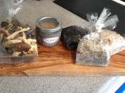 My delicious souvenirs from the weekend!
