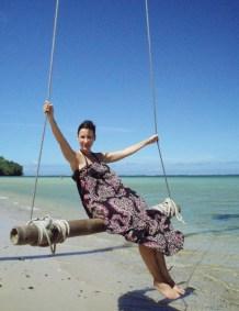 Meeresschaukel auf Fiji