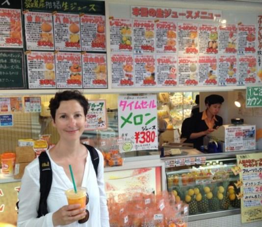 Mandarinensaft in Matsuyama