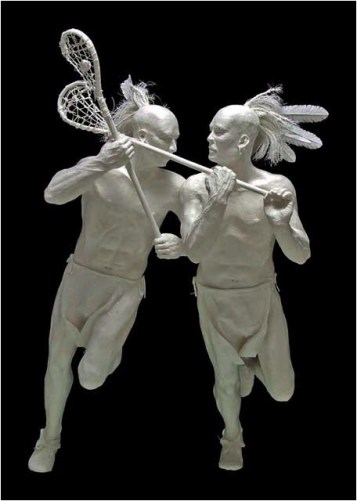 Lacrosse-Brothers Allen si Patty Eckman
