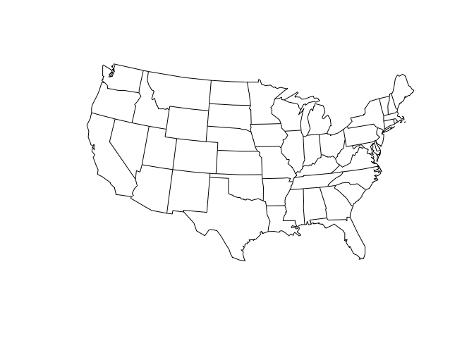 A Path Towards Easier Map Projection Machinations With Ggplot R - Best crs for us map